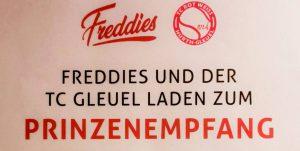 Prinzenempfang im Freddies