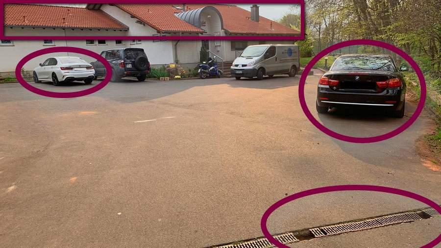 TC-Gleuel-Parkplatz-Clubgelände-Abflussrinne-2021-04-28-rce65-Objekte