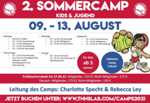 Read more about the article Kids & Jugendliche – Sommercamps im Juli/August