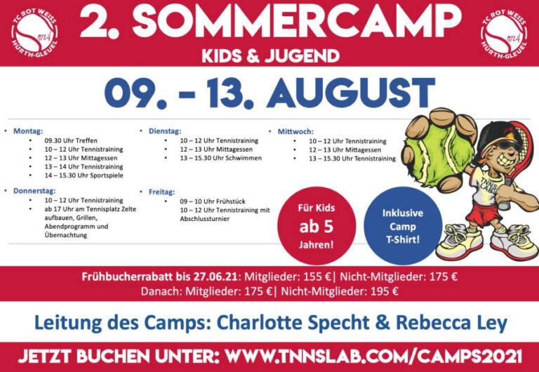 Kids & Jugendliche – Sommercamps im Juli/August
