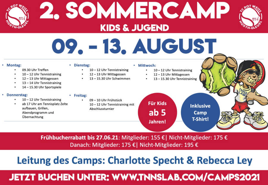You are currently viewing Kids & Jugendliche – Sommercamps im Juli/August